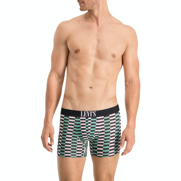 Levi's 2 Pack Mini Spliced All Over Print Boxer Shorts