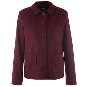 Armor Lux Veste Pacheur Drap Leger Heritage Women's Jacket - Chianti
