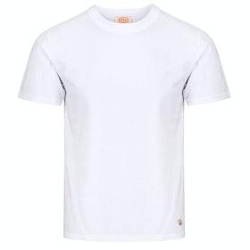 Armor Lux Callac Short Sleeve T-Shirt - Blanc