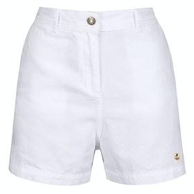 Armor Lux Short Taille Haute H Women's Shorts - Blanc