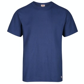 Armor Lux Callac Men's Short Sleeve T-Shirt - Ink