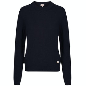 Armor Lux Pull Court Heritage Dame Sweater - Rich Navy