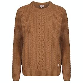 Armor Lux Pull Irlandais Herit Women's Sweater - Origine Chine