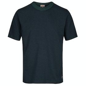 Armor Lux Mc Heritage Short Sleeve T-Shirt - Navire Bottle