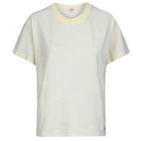 Armor Lux Mc Heritage Dames T-Shirt Korte Mouwen - Yellow Nature