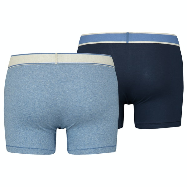 Levi's 2 Pack Vintage Heather Boxer Shorts