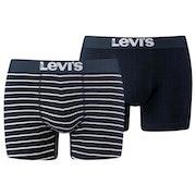 Levi's 2 Pack Vintage Stripe ボクサーショーツ