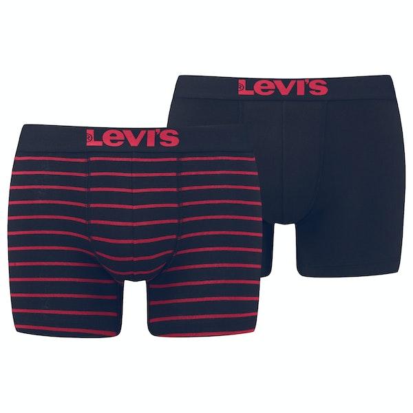 Levi's 2 Pack Vintage Stripe Boksershorts