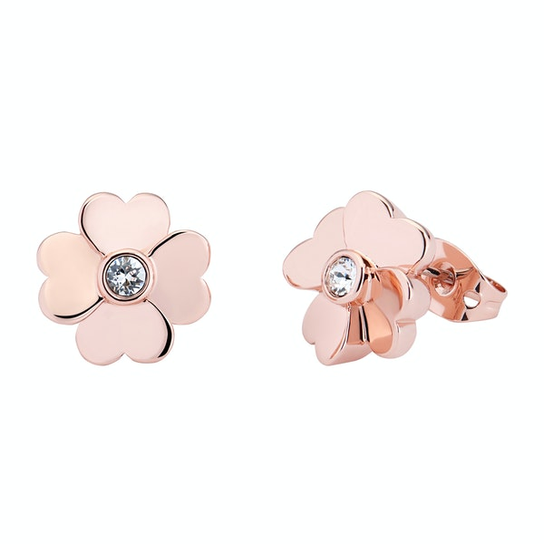Ted Baker Hamzi Heart Flower Stud Women's Earrings