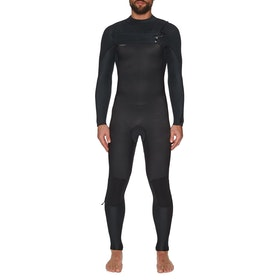O'Neill Hyperfreak 5/4 + Chest Zip Full Wetsuit - Black