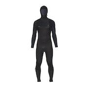 O'Neill Hyperfreak 5/4 + Chest Zip Hooded Wetsuit