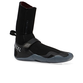 Xcel Infiniti 8mm Round Toe Wetsuit Boots - Black Grey