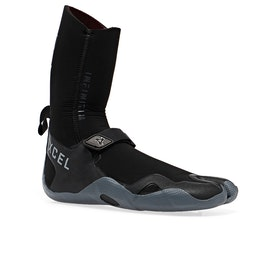 Xcel Infiniti 5mm Split Toe Wetsuit Boots - Black Grey