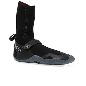 Xcel Infiniti 5mm Round Toe Wetsuit Boots - Black Grey