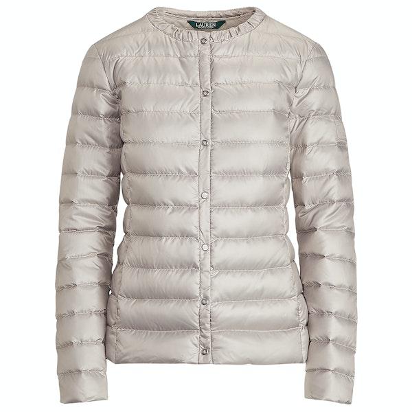 Lauren Ralph Lauren Collarless Packable Женщины Куртка