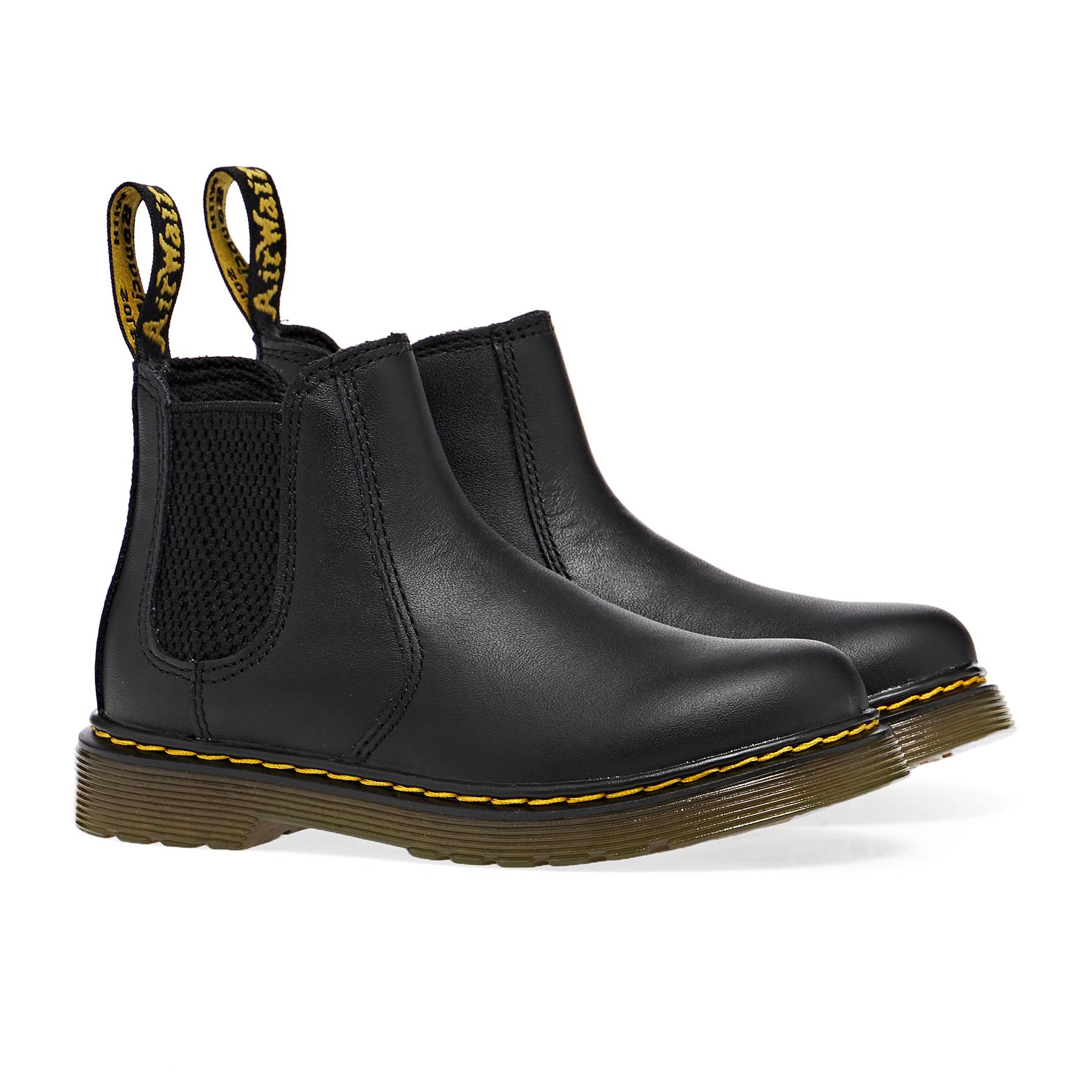 Dr Martens 2976 Kids ブーツ - Soft Black