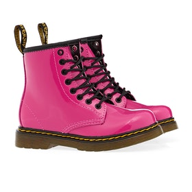 Dr Martens Junior 1460 Kinder Stiefel - Hot Pink Patent