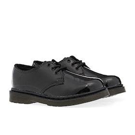 Dr Martens 1461 Kid's Boots - Black Patent Lamper