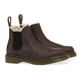 Dr Martens 2976 Leonore Kinder Stiefel - Dark Brown Republic Wp