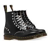 Dr Martens 1460 Stud Rolled Smooth Boots