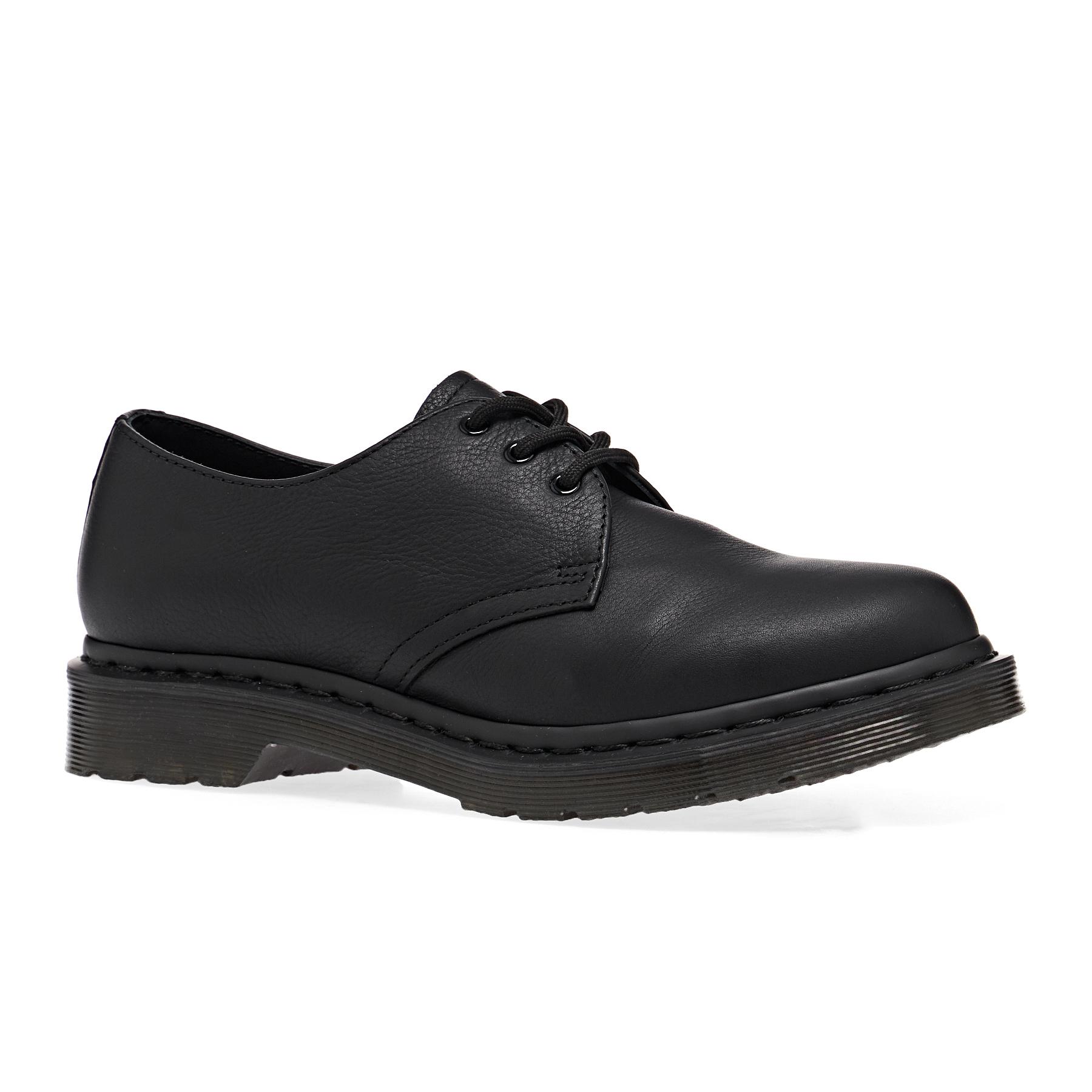 Dr Martens 1461 Virginia Shoes - Black