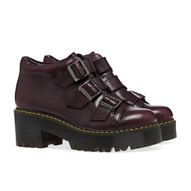 Dr Martens Coppola Vintage Women's Boots - Burgundy