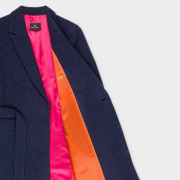 Paul Smith Wool Blend Wrap Kvinner Jakke