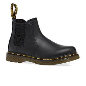 Dr Martens 2976 Kids Boots - Soft Black