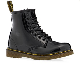 Dr Martens Junior 1460 Kids Boots - Black Patent