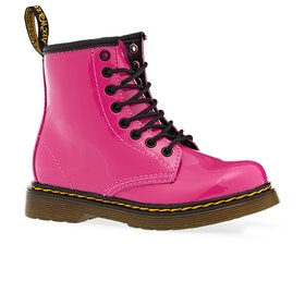 Dr Martens Junior 1460 Kids Boots - Hot Pink Patent