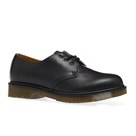 Dr Martens 1461 Smooth Dress Shoes - Black Smooth