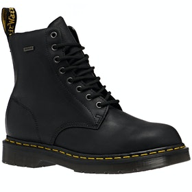 Dr Martens 1460 Waterproof Boots - Black Target Smooth