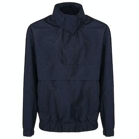 BOSS Okroos Packaway Hood Waterproof Jacket - Navy