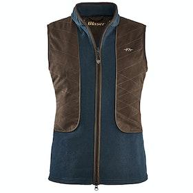 Blaser Basic Fleece Women's Gilet - Dark Blue