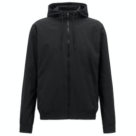 BOSS Zinc Lightweight Track Jacket - Black