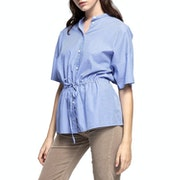 Gant Drawstring Blouse Damski Top
