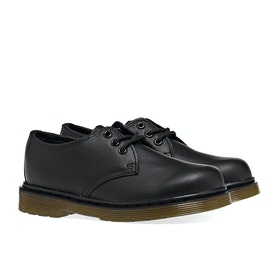 Dr Martens Junior Everley Lace 3 Eye Kid's Dress Shoes - Black