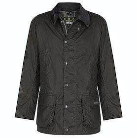 Barbour Bristol Mens Wax Jacket - Olive