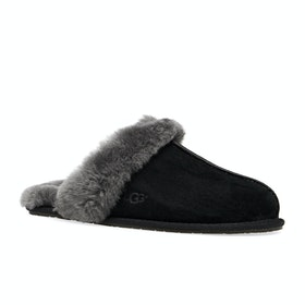 UGG Scuffette II Womens Slippers - Black Grey