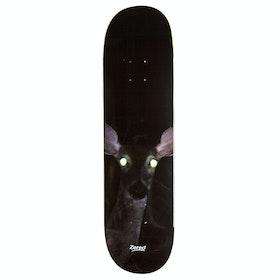 Alltimers Fawn Vision 8.25 Skateboard Deck - Black