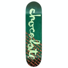 Chocolate Cruz Original Chunk Skateboard Deck - Multi