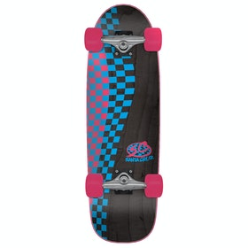 Cruiser Santa Cruz Check Pro - Black