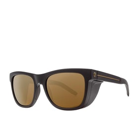 Electric JJF12 Sunglasses - Matte Black ~ Bronze Polarized Pro