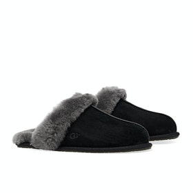 UGG Scuffette II Dames Slippers - Black Grey