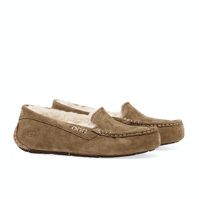 UGG Ansley Dames Slippers - Chestnut
