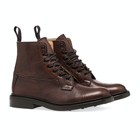Trickers Made In England Grassmere Toe Cap Men's Boots - Caramel Kudu