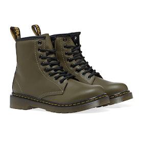 Dr Martens Junior 1460 Kid's Boots - Olive Romario