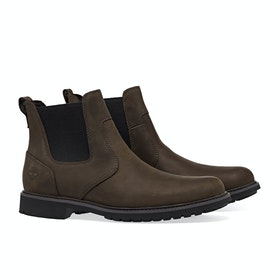 Сапоги Мужчины Timberland Stormbucks Chelsea - Burnished Dark Brown Oiled