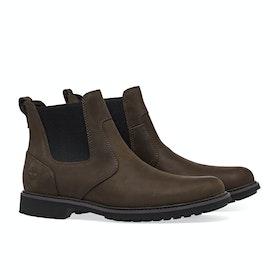 Timberland Stormbucks Chelsea Men's Boots - Burnished Dark Brown Oiled