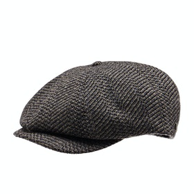 Brixton Brood Snap Cap - Black Washed Navy